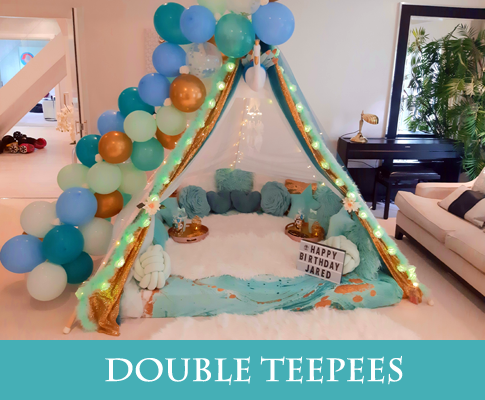 Double Teepees